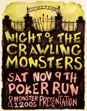 Night Of The Crawling Monsters!!!