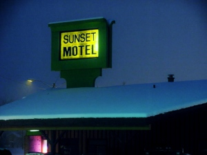 "Photo, ""Sunset Motel"""
